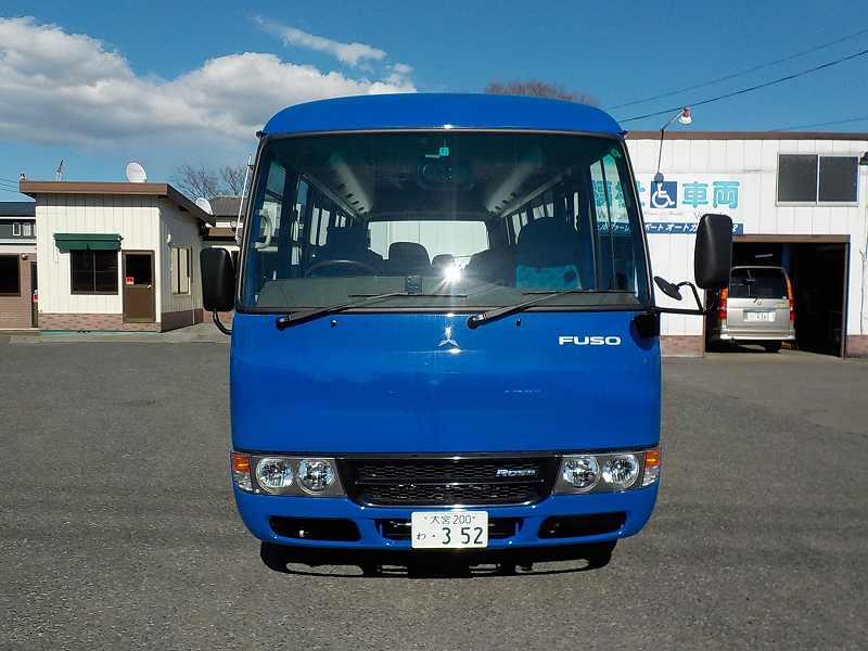 三菱ふそうローザ 大人29人乗り 3000DTB 6AMT 自動ドア・ナビ・ETC ・352