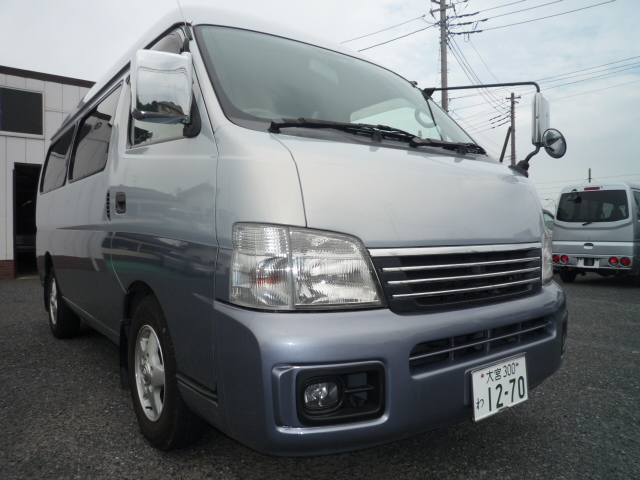 キャラバンW Sロング 10人乗り ナビTV  1270    <<<キャンペーン対象車>>>