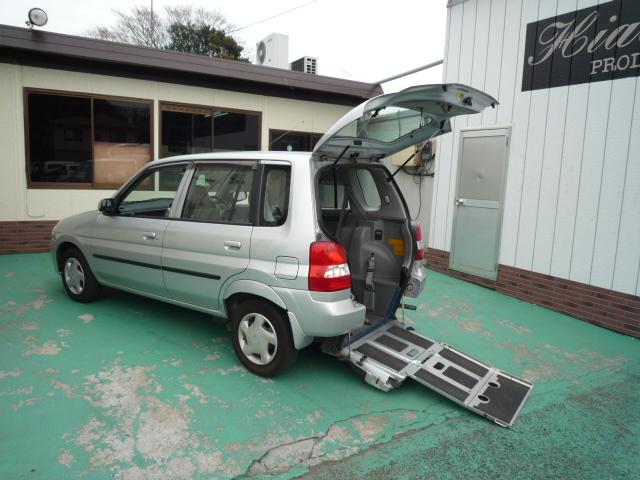 デミオ 車椅子スロープ仕様 3人499