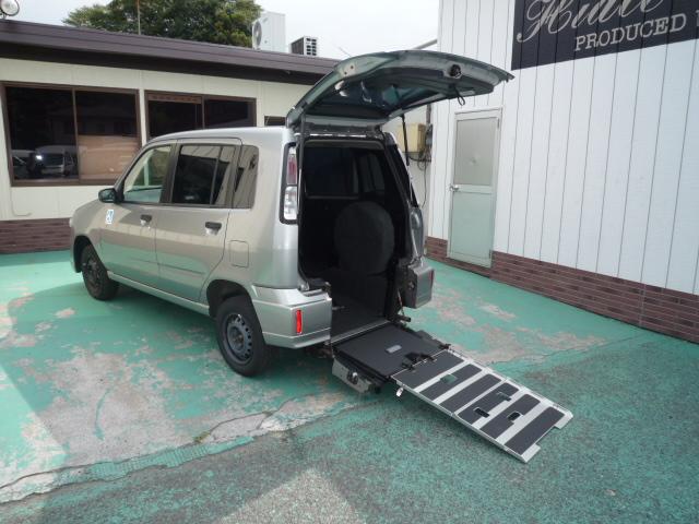 キューブ 福祉車両 車椅子スロープ3人仕様 ・594