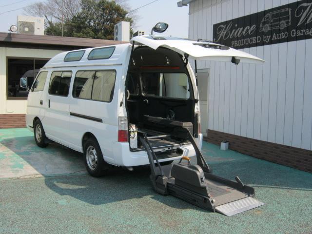キャラバン 福祉車両車椅子2台10人乗り ・643