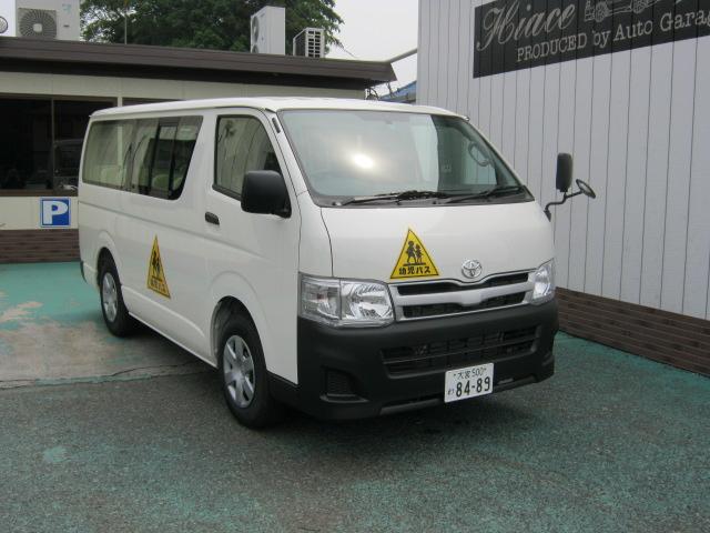 ハイエース 幼児バス 4+20 8489